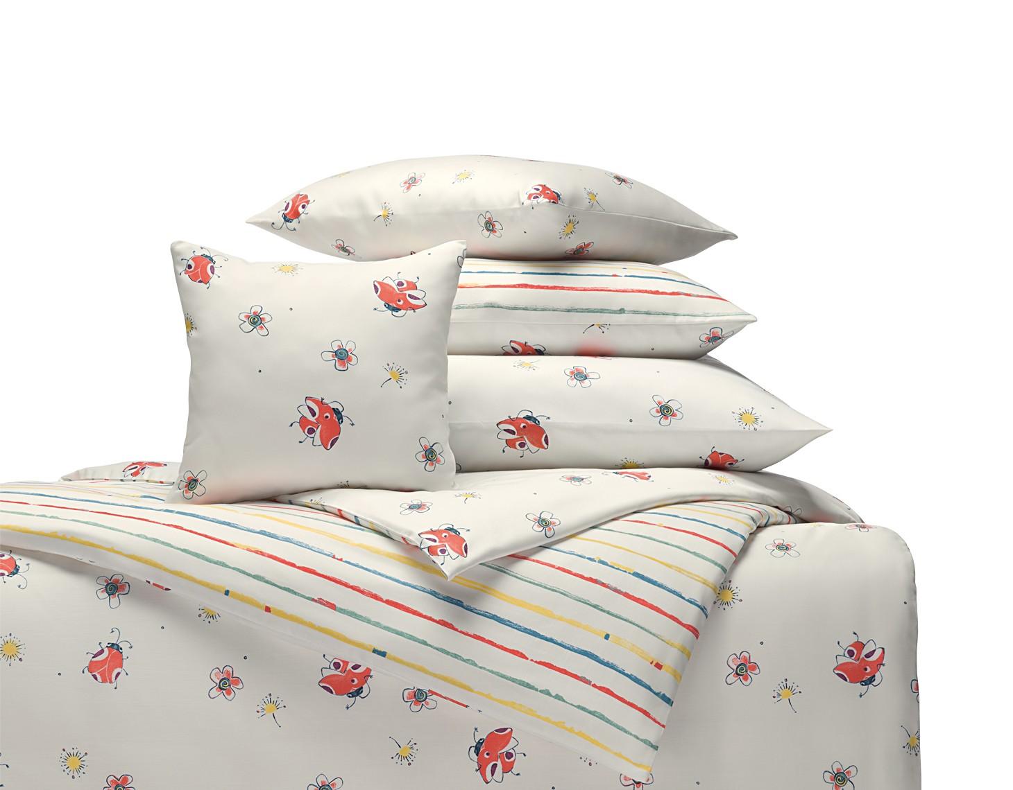 bio satin kinderbettw sche marini stripy vitalana nat rlich schlafen. Black Bedroom Furniture Sets. Home Design Ideas